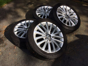 Alloy Rims and Tires - 225/45 R17 (Price Dropped)