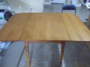 Solid wooden table for sale!
