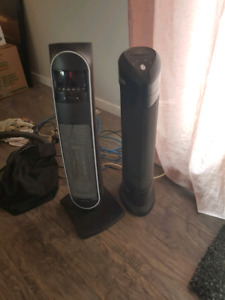 Fan and portable heater