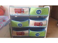 Toys bedroom shelves