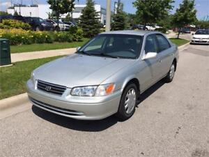2001 Toyota Camry LE. 2.2Eng 4 Cyls. Good Condition, No Rust!