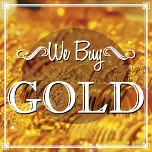 Sell Your Gold at Digital World & Evergreen Traders!