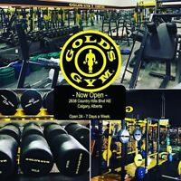 Golds Gym Country Hills (Discount Memberhip & PT Sessions)