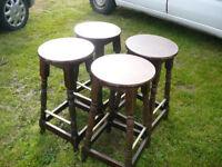 4 bar/pub stools