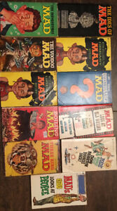 MAD Novels from the 1960s
