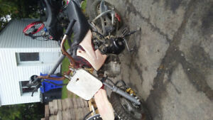 Dirt bike pit bike 110cc semiauto