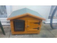 Cat/rabbit wooden house