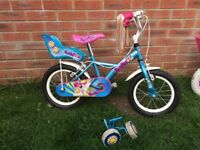 Girls bike - Apollo pom pom 14""