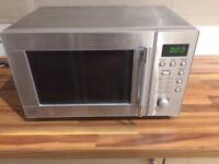 Sainsburys Silver/Aluminium 800watt 20L Digital Microwave Oven