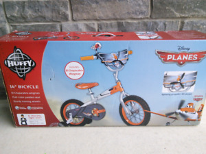 "Disney Planes 14"" bike new in box factory sealed boys / girls"