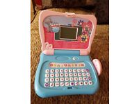 Childrens Tatty Teddy toy laptop with 30 games/activities