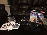 X Plane 10 Global Flight Simulator with Thrustmaster X Stick