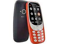 Nokia 3310 sim free brand new boxed with warranty