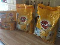 Puppy food job lot all pedigree chum