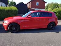 Red BMW 118d 1 Series - LOWEST PRICE!
