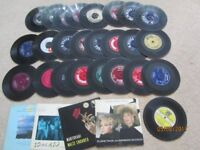 selection of 45s