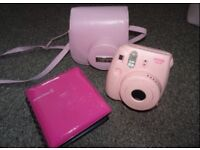 Instant Polaroid Camera Bundle