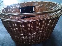 BRAND NEW clip on Wicker basket