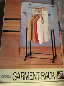 Double Garment Racks