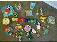 Selection of Baby Toys age 0-1