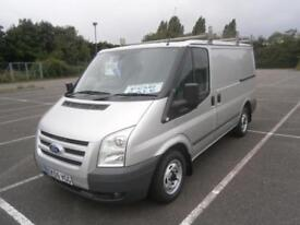 2009 59 FORD TRANSIT TREND 2.2 TDCi 115PS 280 SWB LOW ROOF PANEL VAN IN SILVER