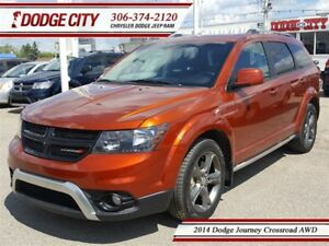 2014 Dodge Journey Crossroad AWD **PST PAID**