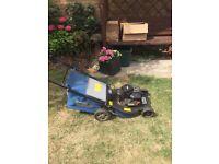 Mac Allister petrol lawn mower