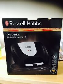 Russell Hobbs sandwhich toaster..brand new in unopened box. Unwanted gift
