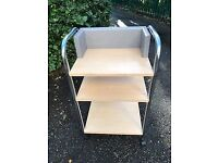 STORAGE/SHELF TROLLEY - BARGAIN £5