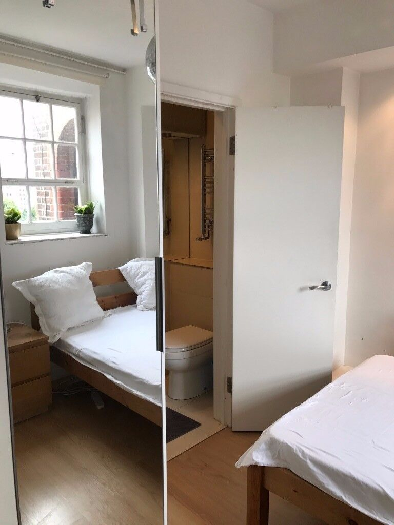 En suite double room in Zone 1 incl living room in Westminster