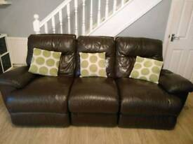 FREE!!! - Electric recliner 3 seater + 2 seater sofas