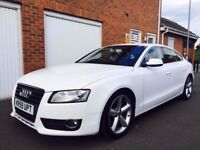 2010 59 Audi A5 Sportback 2.0 TFSI Turbo Petrol 5dr+S Line Alloys+Leather+nt a4 gti 335 gti scirocco
