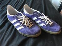 Adidas Gazelle in Purple Size 9.5 UK