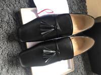 Christian Louboutin tassel dress shoes