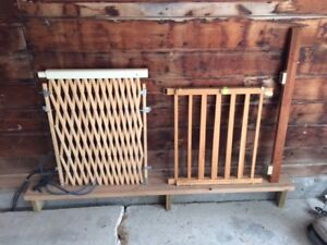Wooden Baby Gate, easy install