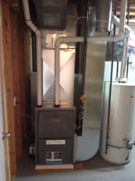 BASEMENT RENOVATION? Relocate your Furnace / Hot water tank?!