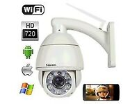 Ip camera720P Wifi CCTV sricam dome zoom camera Security camera move via phone (view via app!)