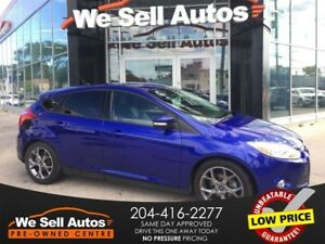 2013 Ford Focus SE *LOW KM *ALLOY WHEELS *BTOOTH *HTD SEATS *XM