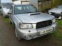 subaru forester 2.0 gas-bi-fuel 4x4 turbo 2005 full black leather alloys full years mot