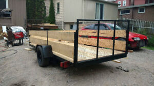 Cargo/Utility trailer , Freshly Built for your Hauling Needs!