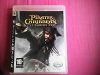 Pirates of the Carribbean PS3 game