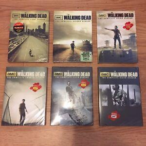 60$ New Sealed The Walking Dead Complete Series Seasons 1-6.