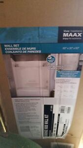 Brand New Maax 4 Piece Tub Shower in the Box