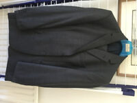MARKS & SPENCER GREY 100% WOOL SUIT