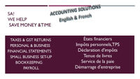 Professional Taxes & GST, Accounting, bookkeeping & payroll