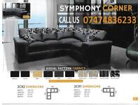 Symphony sofa with free cushions UuJD