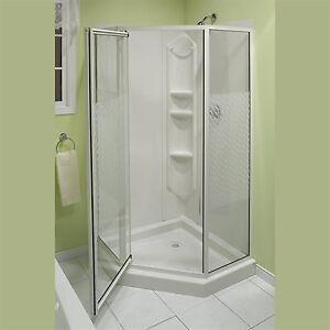 Acrylic Neo Angle Shower