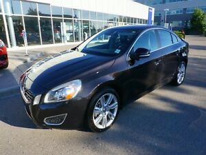2013 Volvo S60 T6 AWD w/ Low KM's & Certified PreOwned Warranty!