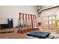 Glass carrier rack