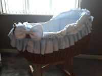 Babys crib cot Bianca uno rocking crib from mamas & papas excellent condition